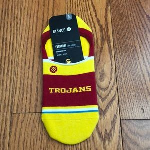 NWT USC Stance Invisible Socks